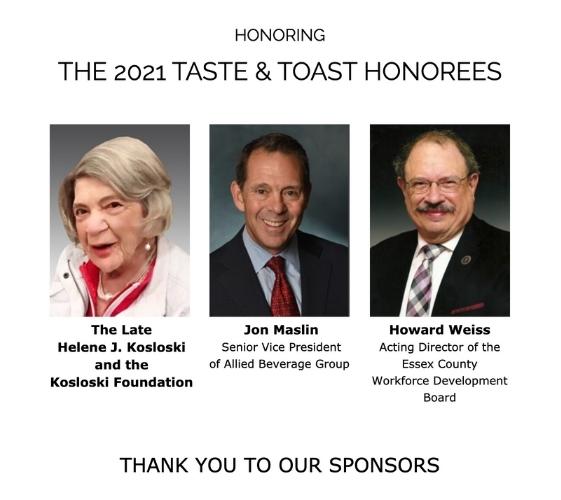 JVS of MetroWest Taste & Toast Honorees